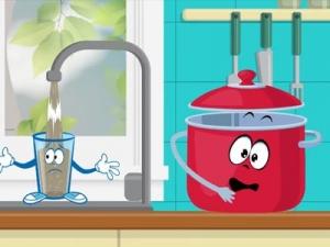 Анимационный ролик H2O