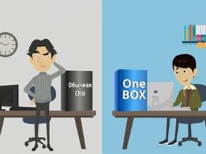 Рисованное видео ONE BOX