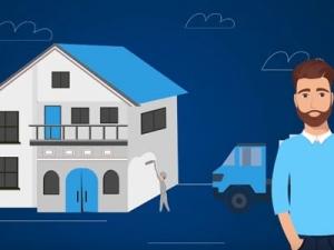 Анимационный ролик Подключение к электросети