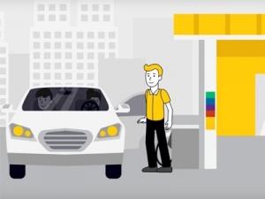 Анимационный видеоролик  о правилах заправки ГБО