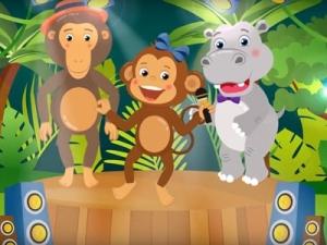Анимационный клип на детскую песню